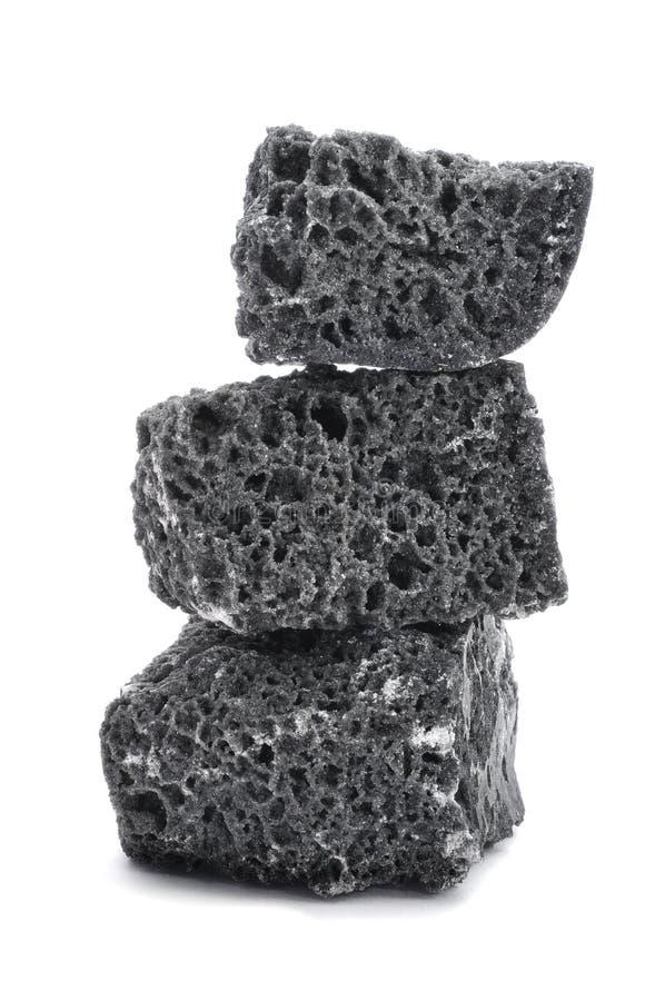 Carvão dos doces foto de stock