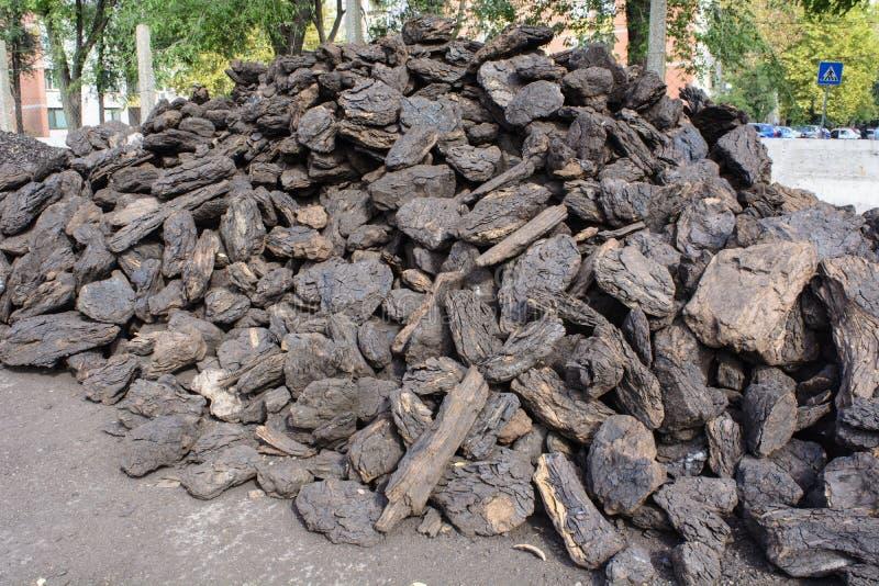 Carvão para o inverno imagem de stock royalty free