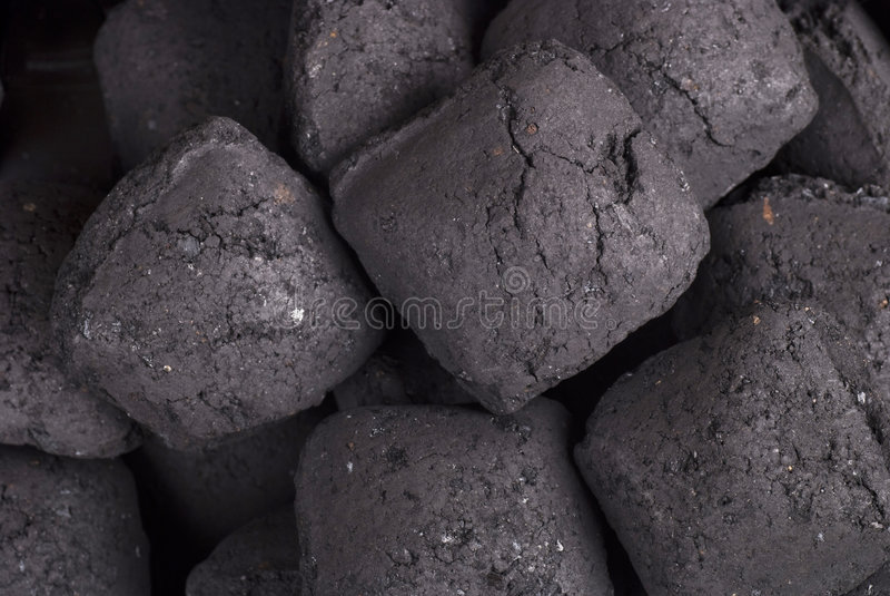 Carvão vegetal imagens de stock royalty free