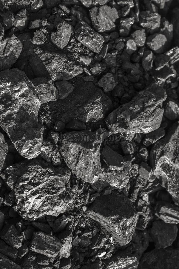 Carvão vegetal preto natural para o fundo fotos de stock