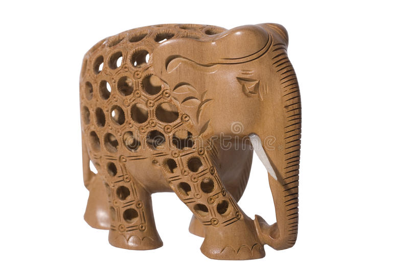 Download Carved Elephant stock image. Image of ornament, hand - 13043341