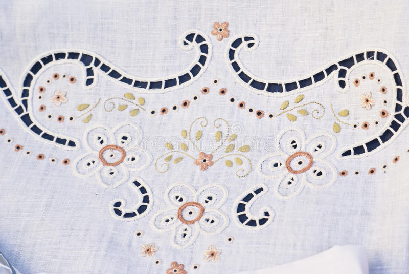 Download Carved And Embroidered Cloth. Handmade Stock Photos - Image: 25949603