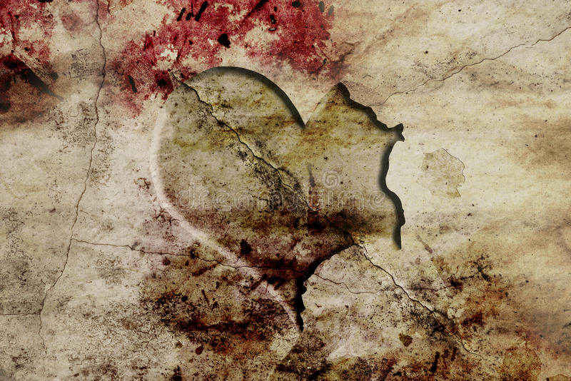 Download Carved Heart On Ground Royalty Free Stock Photo - Image: 25619175