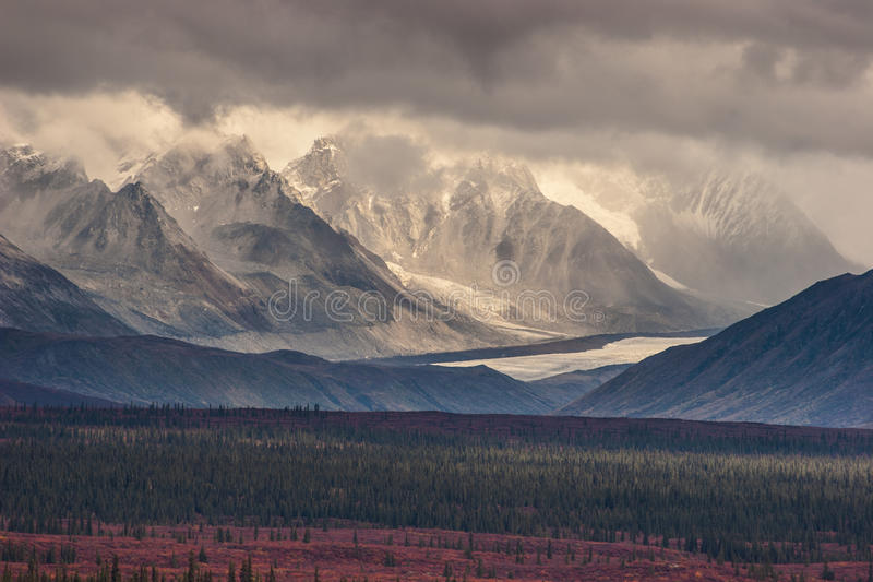 Carved Mountains royalty free stock photo