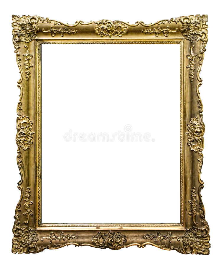 Download Carved picture frame stock image. Image of decorative - 12328017