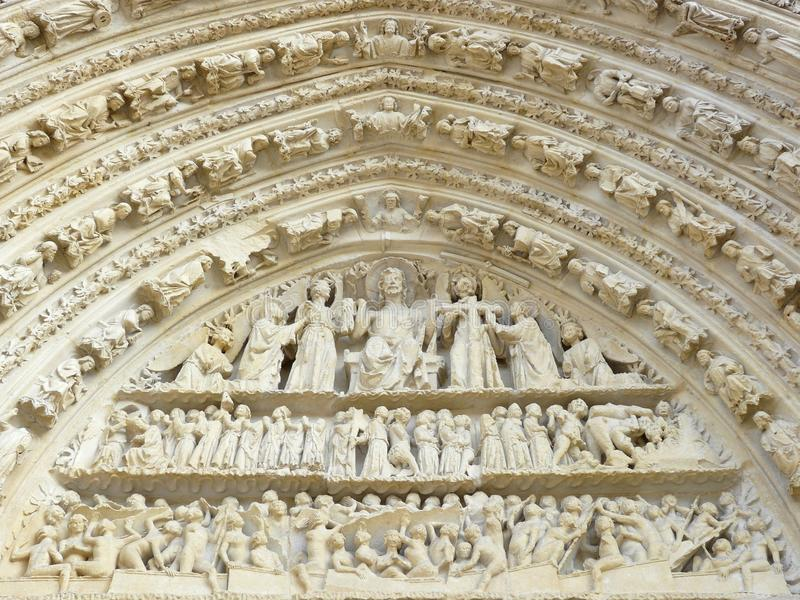 Download Carved Stone Lintel On A Church Door Stock Image - Image: 10957377