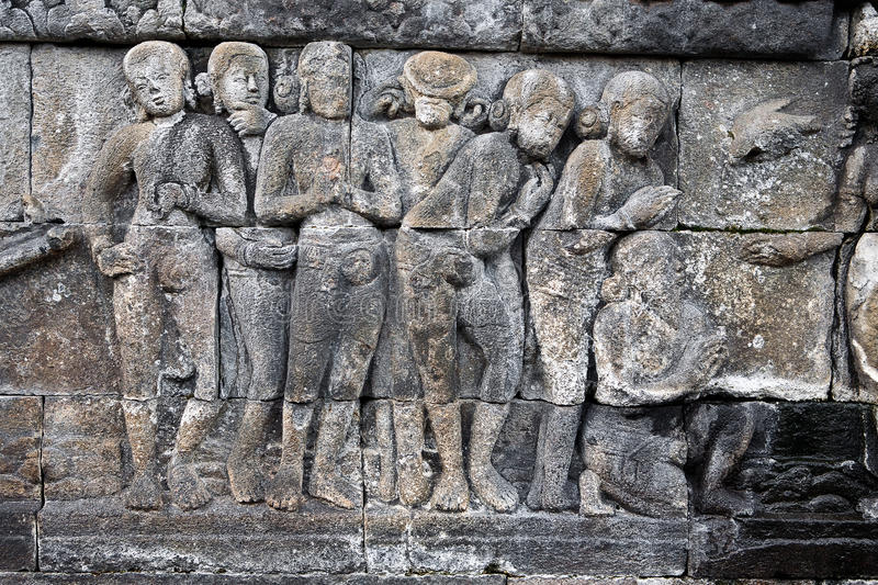 Download Carved Stoneat The Borobudur Temple Stock Image - Image: 18334539