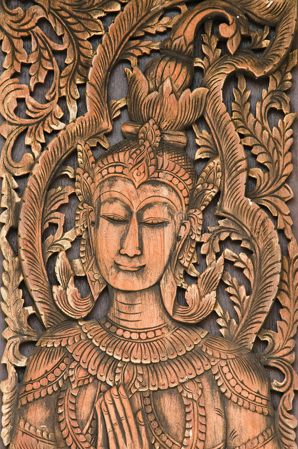 Free Carved Wood Royalty Free Stock Photography - 16916157