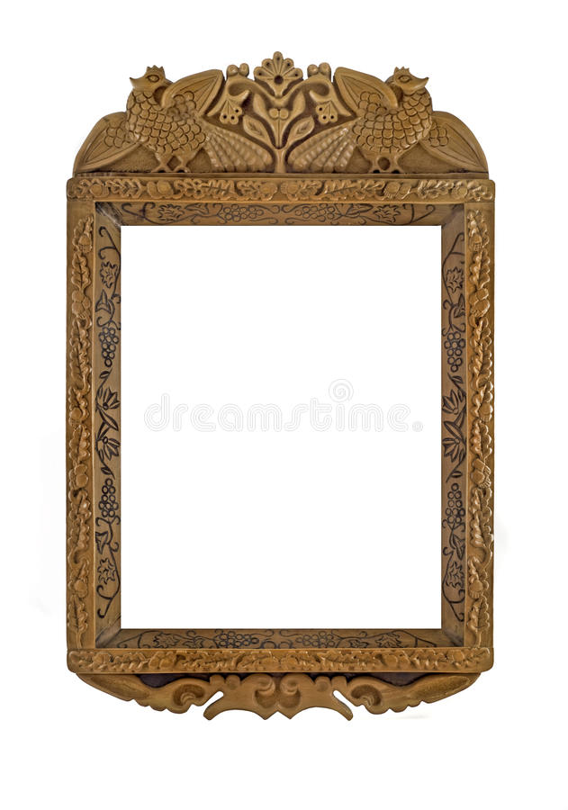 Download Carved Wooden Frame For Picture Or Portrait Royalty Free Stock Photos - Image: 10617198