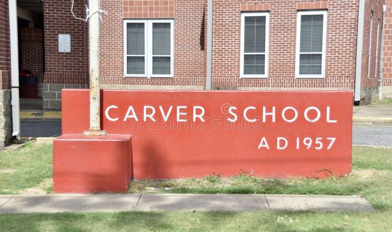Carver High School, Memphis, TN imagenes de archivo