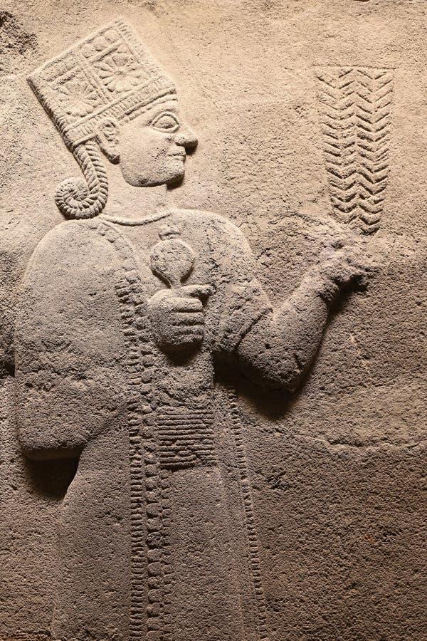 Carving in Museum of Anatolian Civilizations, Ankara. Turkey stock photos