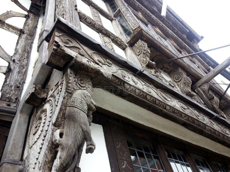 Carvings de madeira foto de stock royalty free