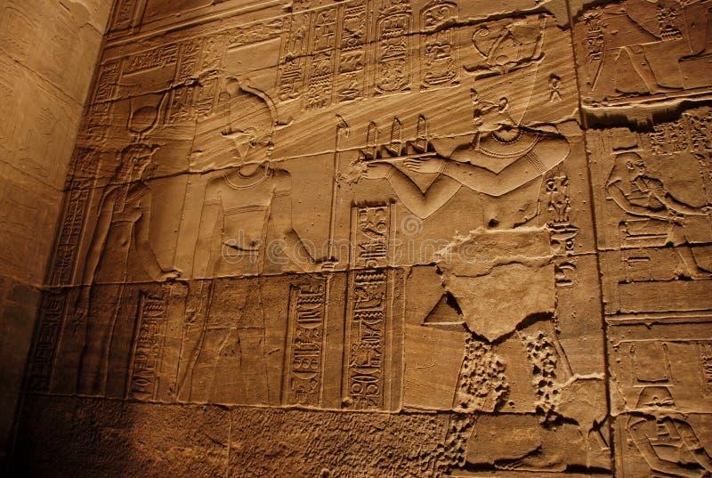 Carvings de pedra antigos imagens de stock