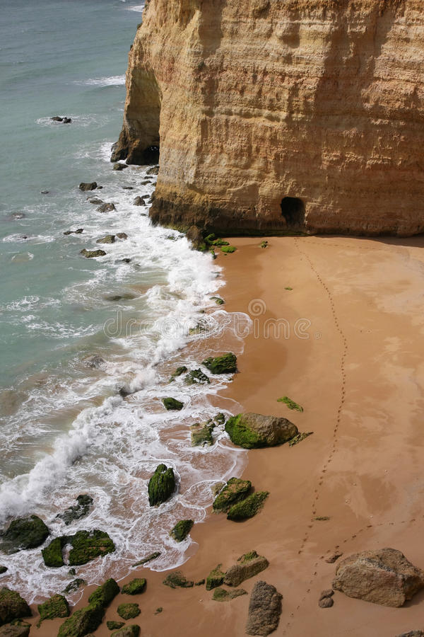 Download Carvoeiro Beach stock image. Image of active, vacation - 19025423