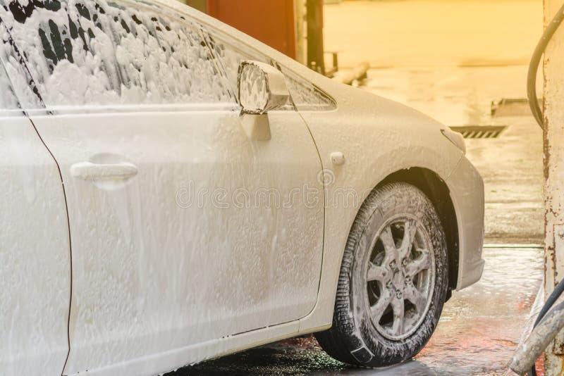 Carwash stock foto's