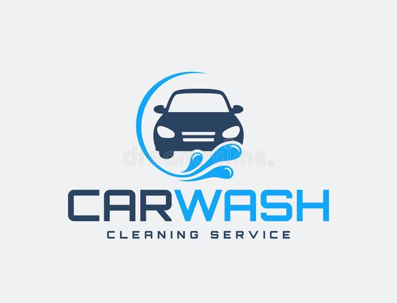 Carwash logo royalty ilustracja