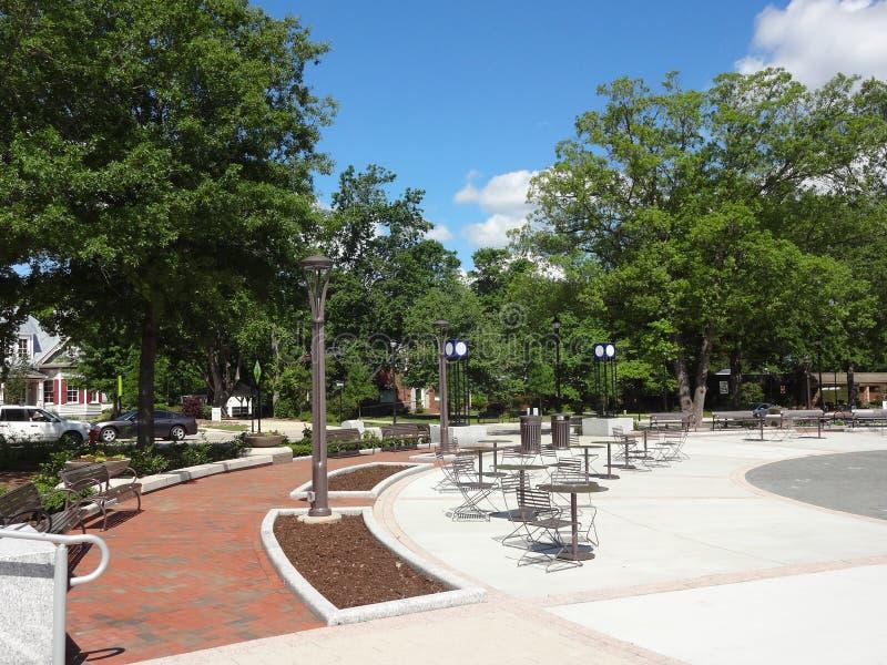 Cary, North Carolina Park. Park in downtown Cary, North Carolina royalty free stock photo