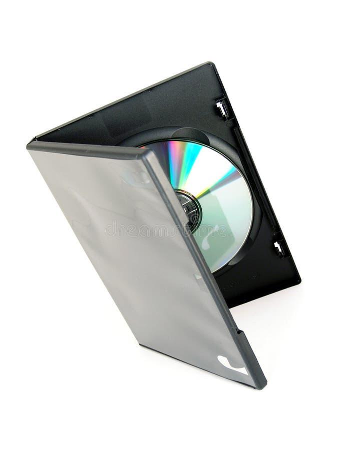 Cas de Dvd/cd photographie stock libre de droits