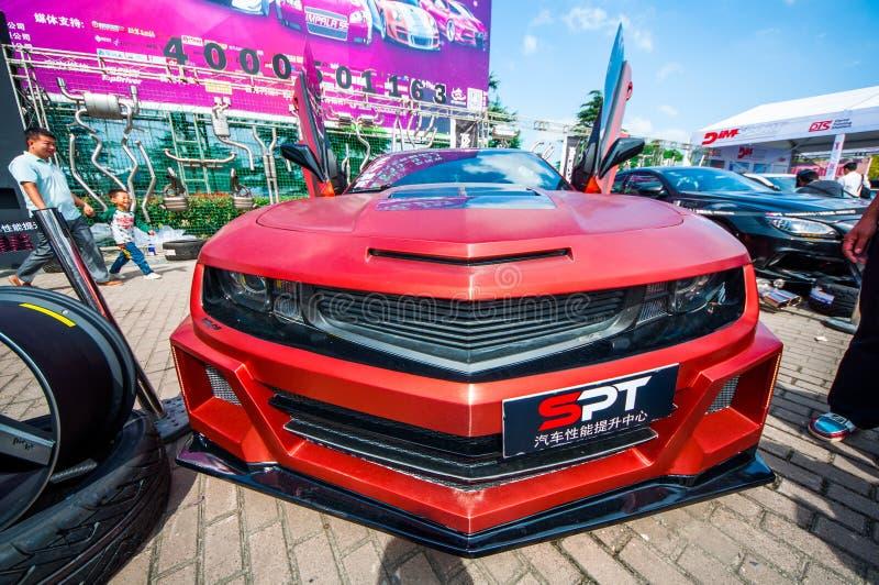 CAS 2014 (SALÓN AUTO DE CHINA) fotografía de archivo