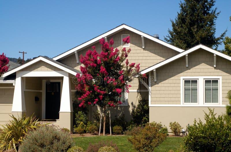 Casa 1 della California fotografia stock