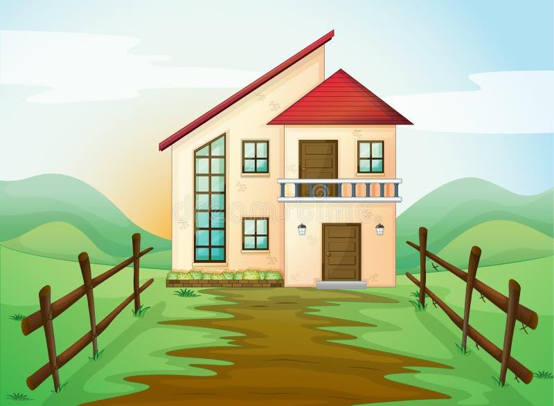 Casa ilustración del vector