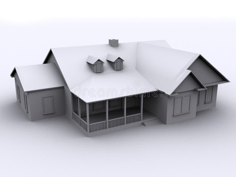 casa 3d royalty illustrazione gratis