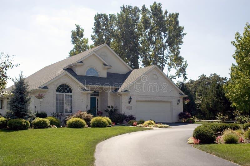 Casa 5 immagine stock