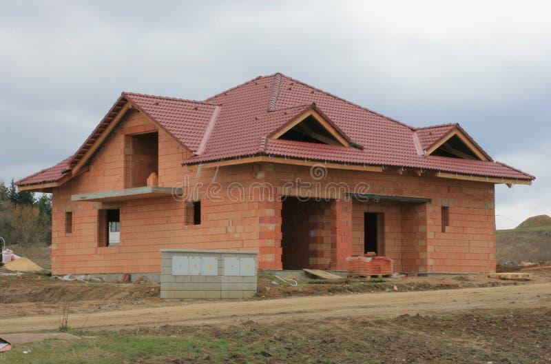 Casa 7 della costruzione fotografia stock immagine di for Disegni della casa della cabina di ceppo
