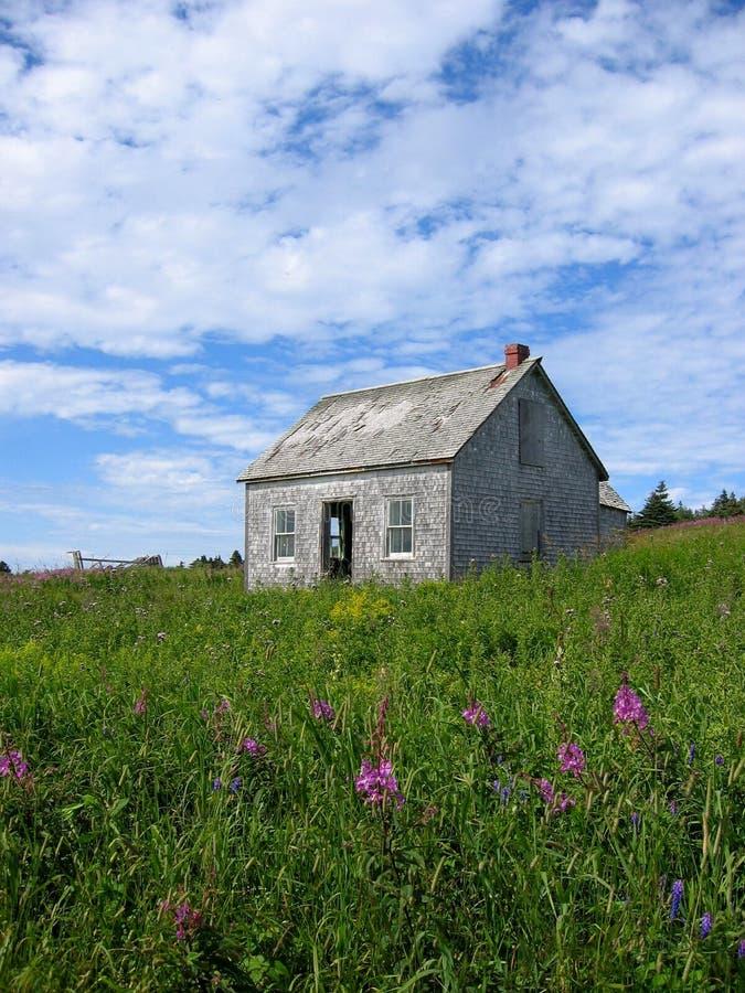 Casa abandonada imagen de archivo libre de regalías
