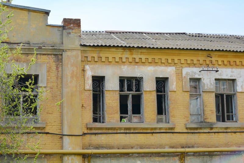 Casa abandonada fotografia de stock