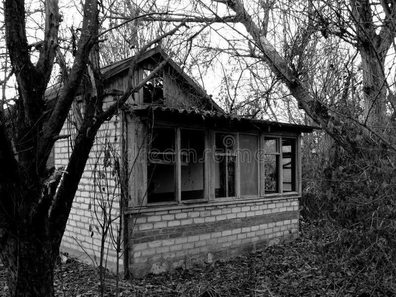 Casa abandonada imagem de stock royalty free