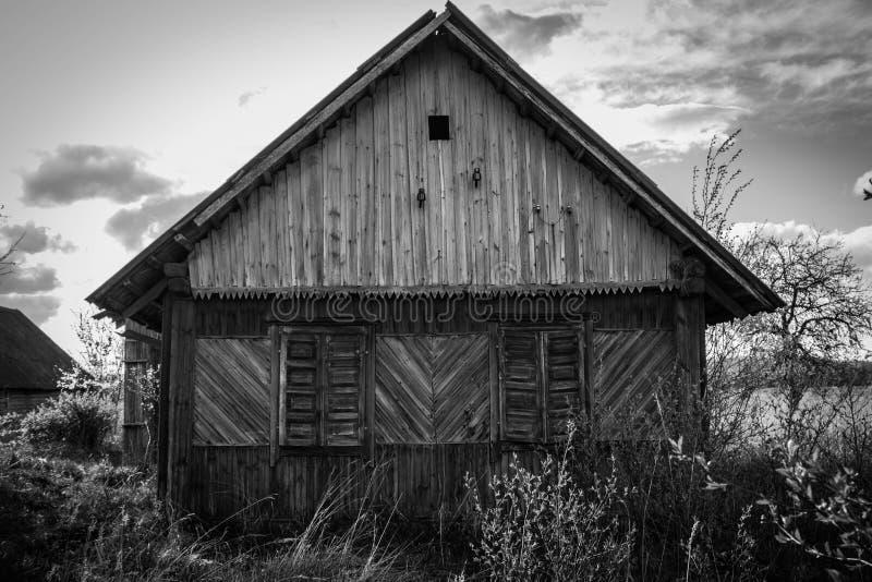 Casa abandonada fotos de archivo