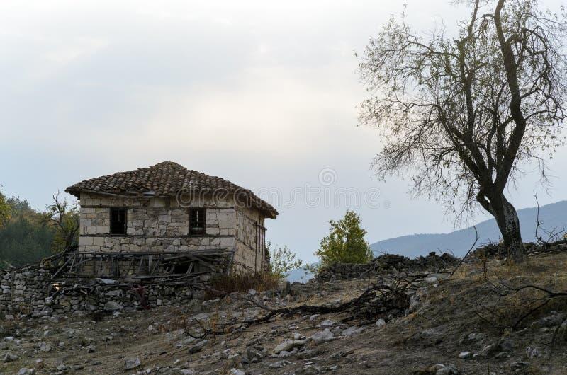 Casa abandonada imagem de stock