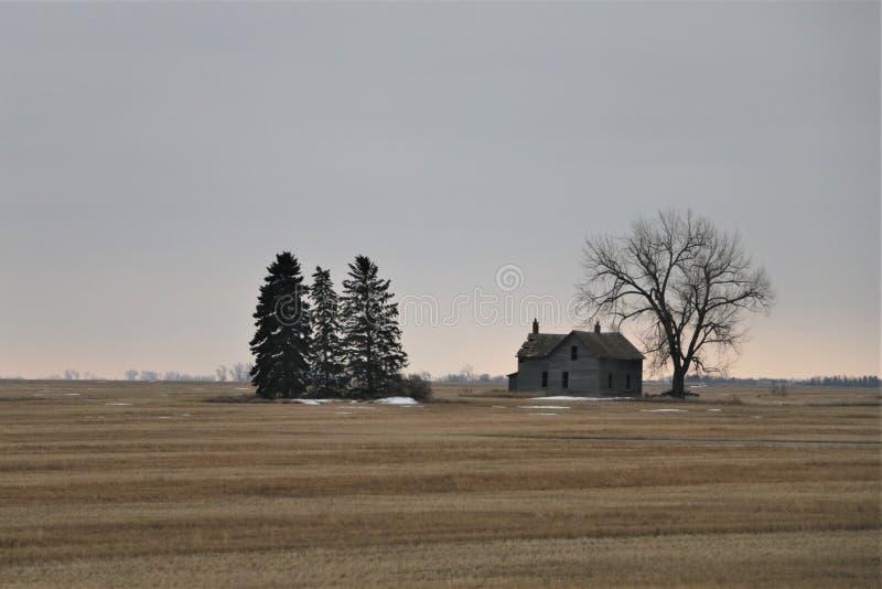 Casa abandonada s? fotos de stock