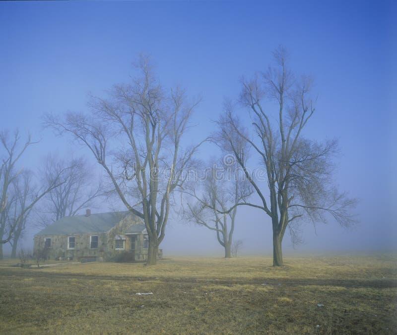 Casa abandonada, Springfield, Missouri fotografía de archivo libre de regalías