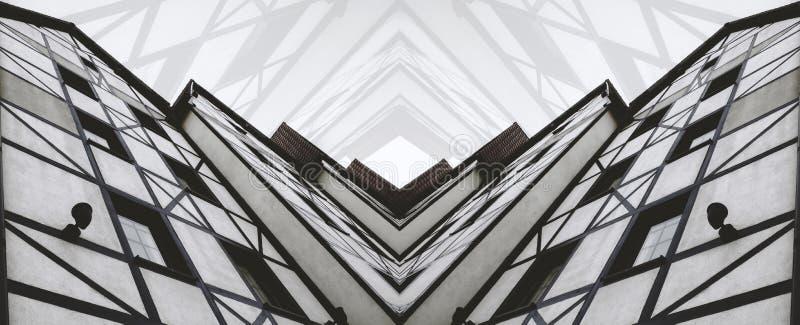 Casa abstracta fotos de archivo libres de regalías