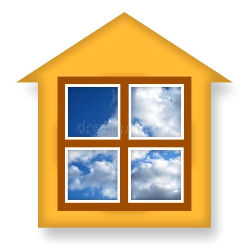 Casa accogliente illustrazione di stock illustrazione di - Casa accogliente ...