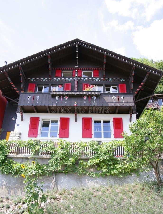 Casa agradable 3 de la aldea imagen de archivo libre de regalías