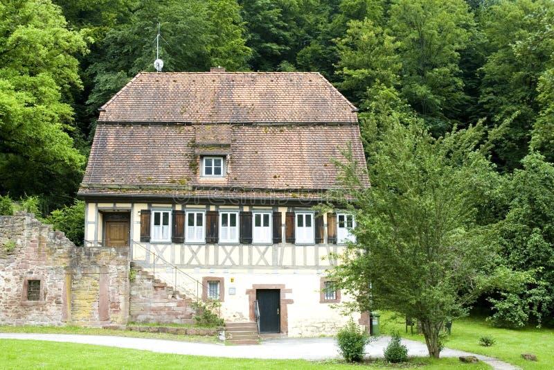 Casa alemana típica imagen de archivo