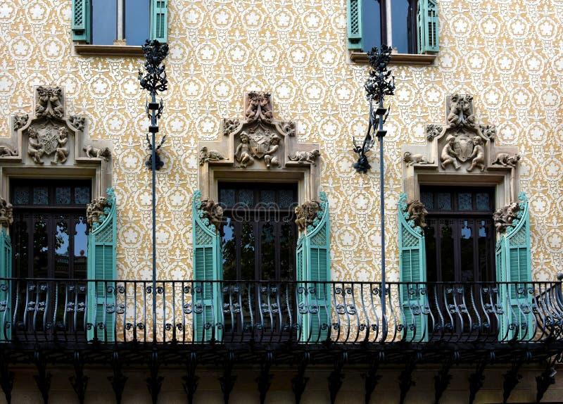 Casa Amatller, obraz royalty free