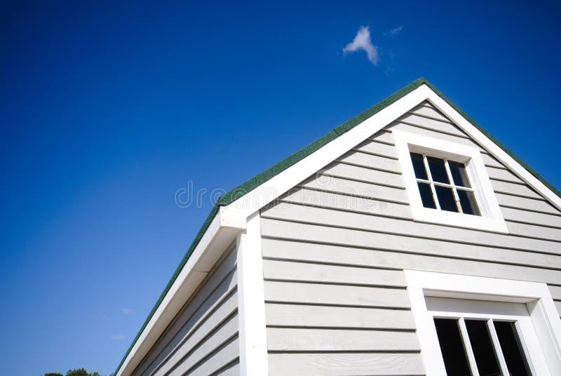 Casa americana típica imagem de stock royalty free