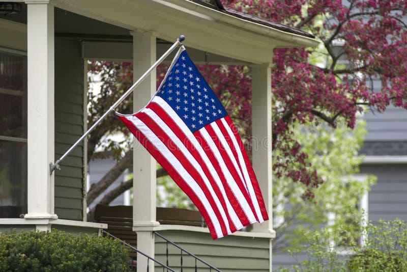Casa americana fotografia stock libera da diritti