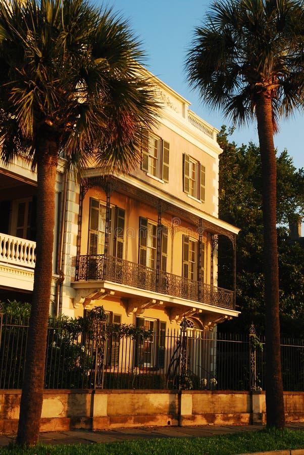 Casa Antebellum em Charleston, South Carolina foto de stock royalty free