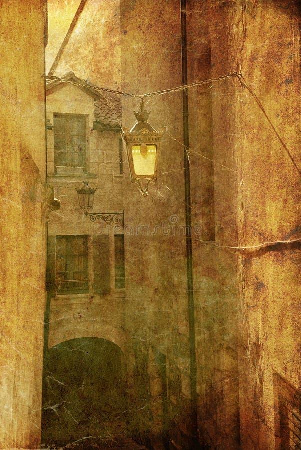 Casa antica royalty illustrazione gratis