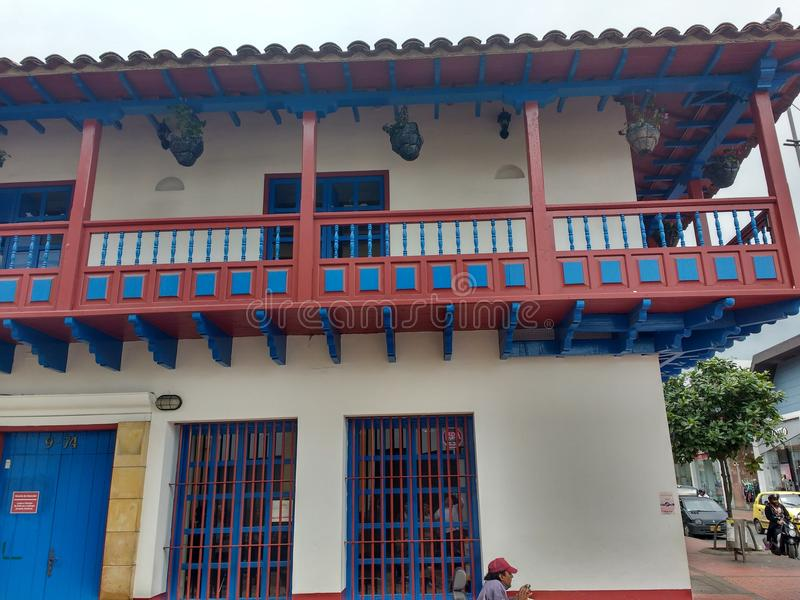Casa Antigua stockfotografie