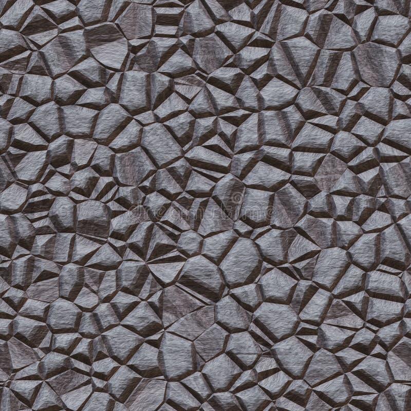 Casa antigua del elemento Hogar abstracto de la pared de la roca de la textura ilustración del vector