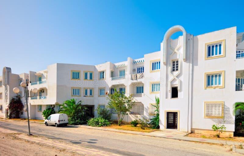 Casa araba moderna di stile fotografia stock immagine di - Stile casa moderna ...