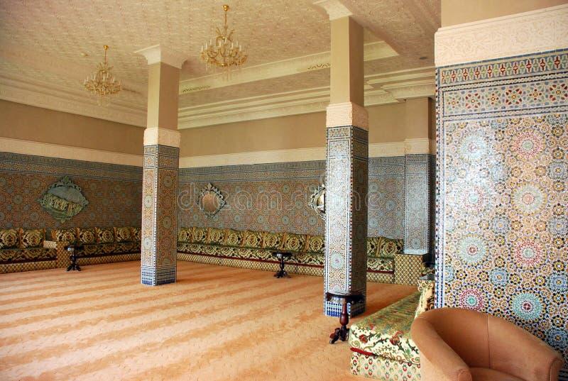 casa araba tradizionale interna immagini stock immagine