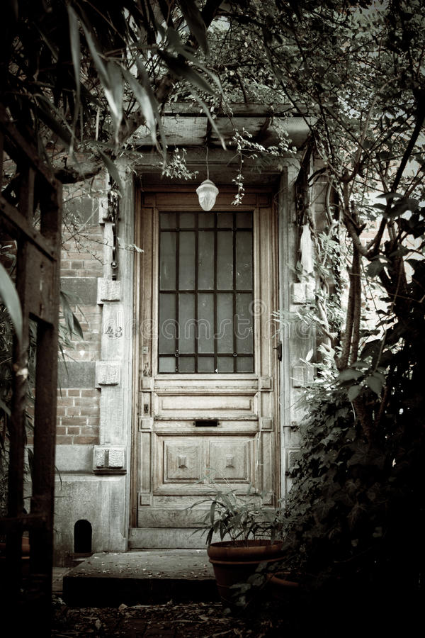 Casa assombrada imagem de stock royalty free