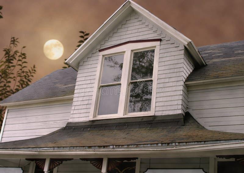 Casa assombrada fotos de stock